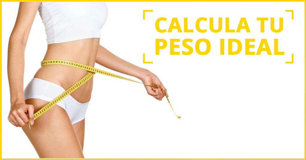 calcula tu peso ideal